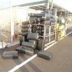 truck hauling pot