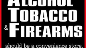 Alcohol Tobacco And Firearms-With Red Border