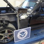 Border patrol officers rein in mustang loaded with drugs