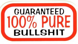CHS-0122-guaranteed-100-percent-pure-bullshit-sticker